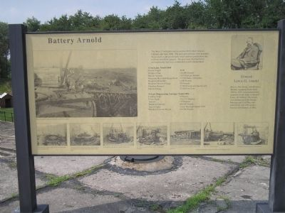 Battery Arnold Marker image. Click for full size.