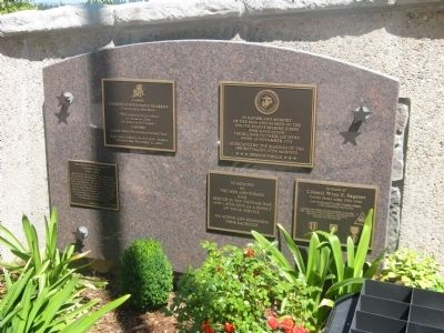 Memorial and Dedication Plaques image. Click for full size.