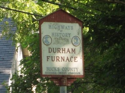 Durham Furnace - Additional Marker image. Click for full size.