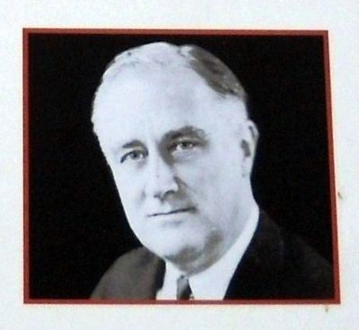 "Image of ""FDR"" on Marker image. Click for full size."