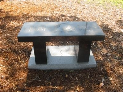A Second POW * MIA Memorial Bench image. Click for full size.