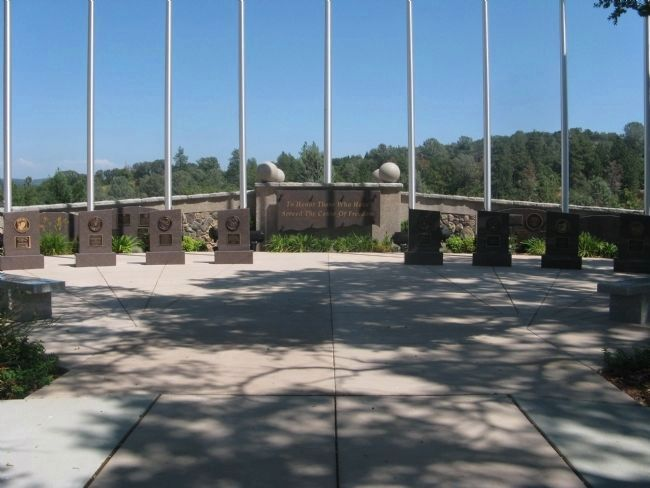 El Dorado County Veterans Monument image. Click for full size.