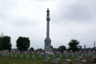 Johnstown Civil War Memorial at the Soldiers Circle Photo, Click for full size