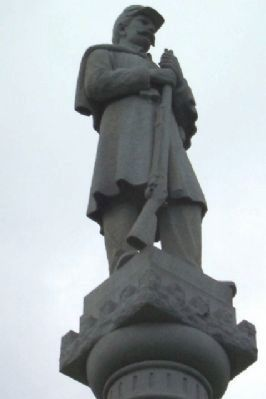 Johnstown Civil War Memorial Statue Photo, Click for full size