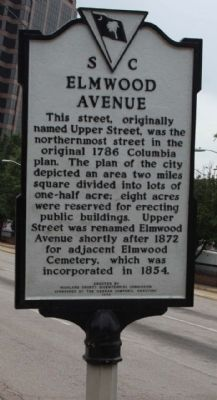 Elmwood Avenue Marker image. Click for full size.