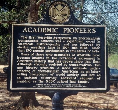 Side 2: Academic Pioneers image. Click for full size.