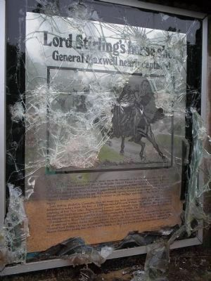 Lord Sterling�s Horse Shot Panel Photo, Click for full size