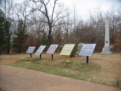 Orientation Tablets at Shiloh Church image. Click for full size.