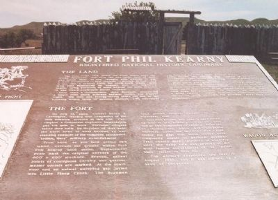 Fort Phil Kearny Marker image. Click for full size.