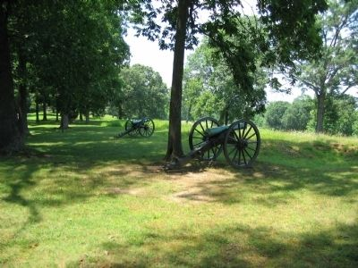 Artillery on Prospect Hill image. Click for full size.