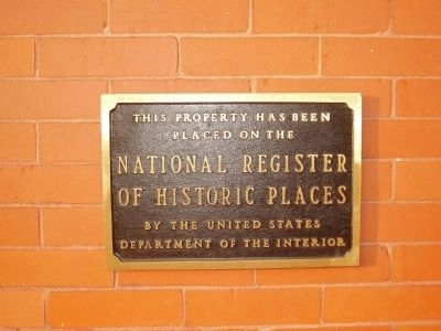 National Register of Historic Places Photo, Click for full size