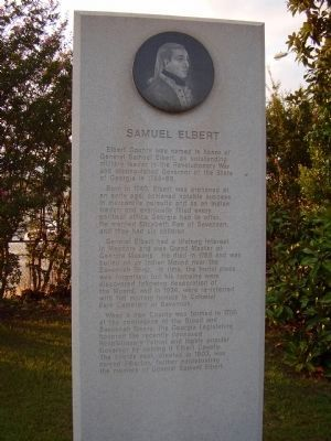 Samuel Elbert Marker image. Click for full size.