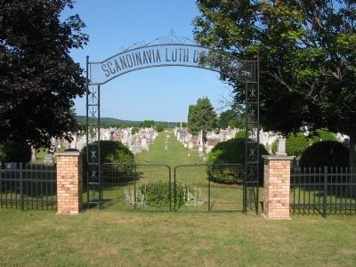 Scandinavia Lutheran Cemetery image. Click for full size.