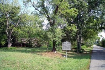 Church Quarter Marker on Old Ridge Road. image. Click for full size.