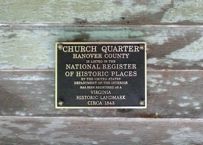 National Register Plaque. image. Click for full size.