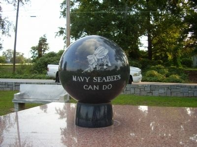 Navy Seabees Can Do Marker Photo, Click for full size