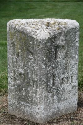 Turnpike Milestone image. Click for full size.