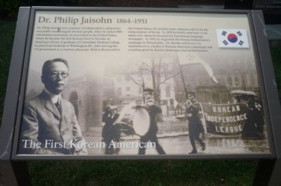 Dr. Philip Jaisohn, 1864-1951 Marker Photo, Click for full size