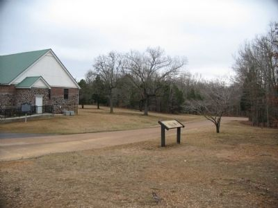 Marker and Shiloh Church Photo, Click for full size