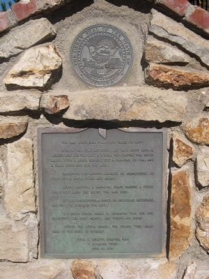 Nevada State Seal Marker Photo, Click for full size