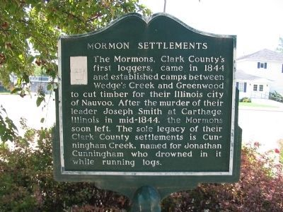 Mormon Settlements Marker image. Click for full size.