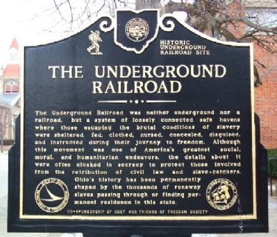 The Underground Railroad Marker image. Click for full size.