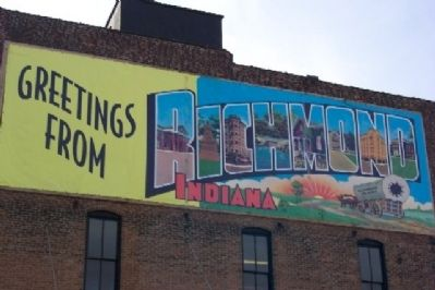 Greetings from Richmond, Indiana image. Click for full size.