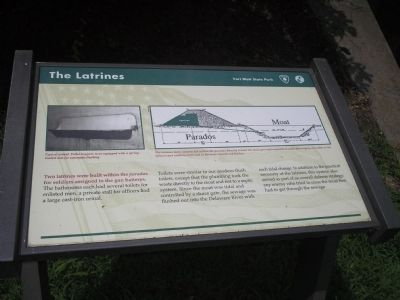 The Latrines Marker image. Click for full size.