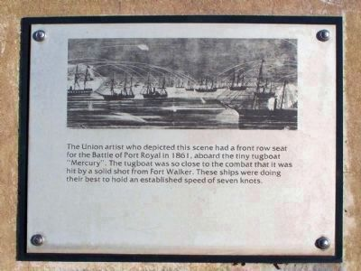 """The Hilton Head Island Historical Society , Port Royal Interpretive Markers"" Photo, Click for full size"