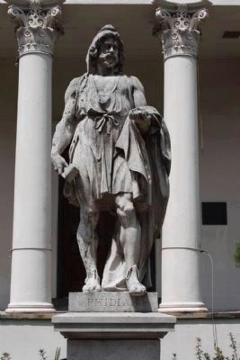 Telfair Academy of Arts & Sciences Phidias Statue Photo, Click for full size