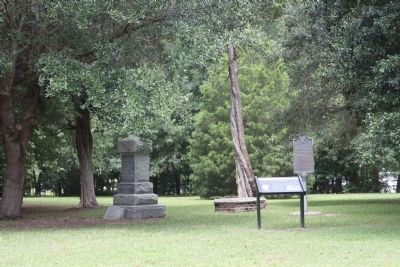 Battle of Eutaw Springs Marker, as seen on the battleground Photo, Click for full size