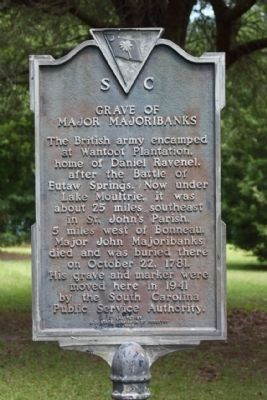 Grave of Major Majoribanks Marker image. Click for full size.