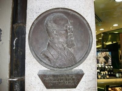 Gottfried Keller Marker image. Click for full size.