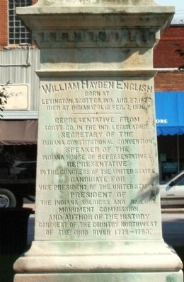 Obverse Side - - William Hayden English Marker image. Click for full size.