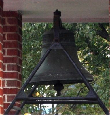 Side View - - The Orleans School Bell image. Click for full size.