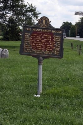Long View Side B - - The Masterson House Marker image. Click for full size.