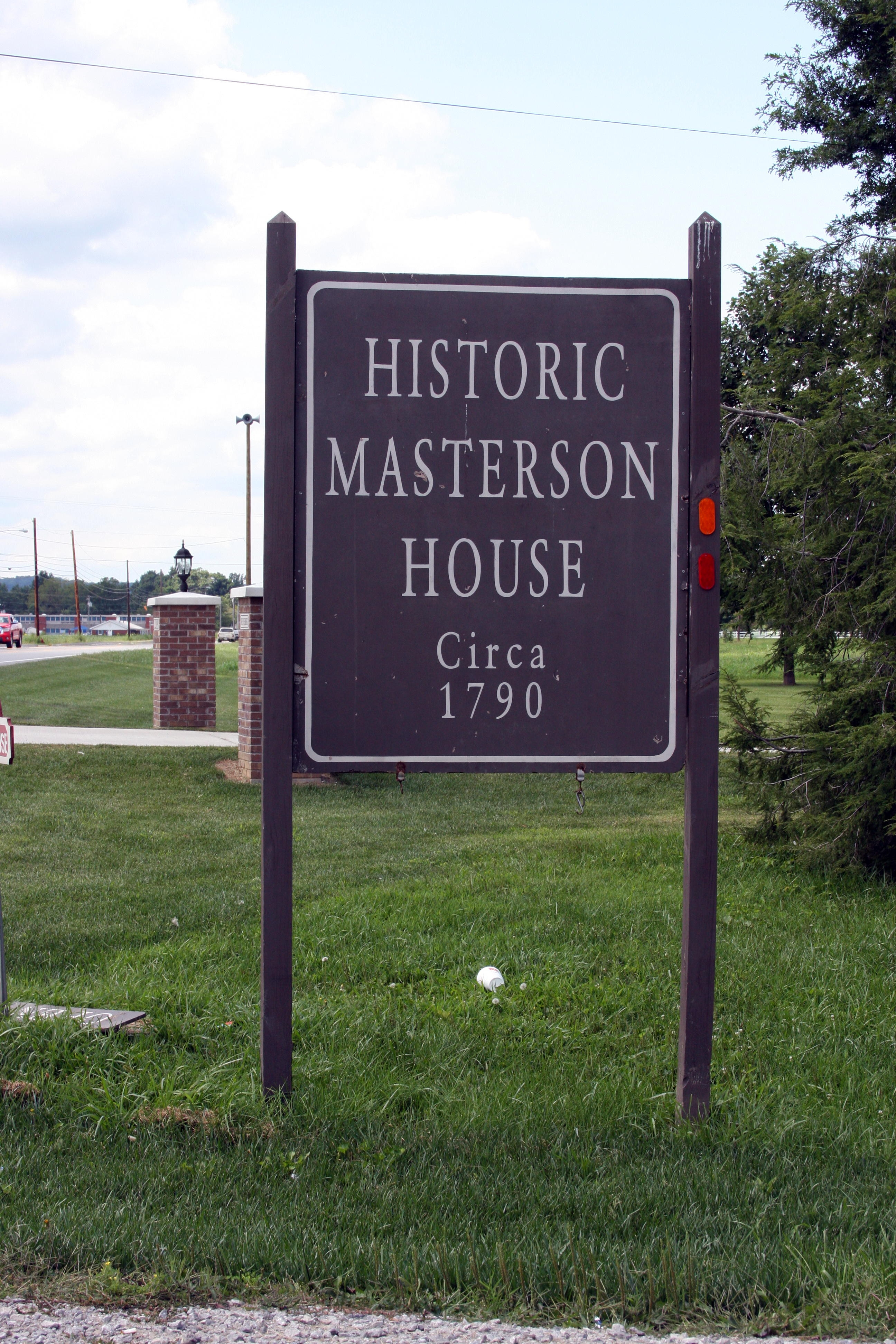 Sign - - Historic Masterson House