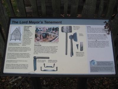 The Lord Mayor's Tenement Marker image. Click for full size.