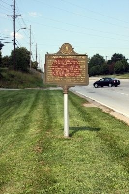 Long View Side A - - Franklin County Hemp Marker image. Click for full size.