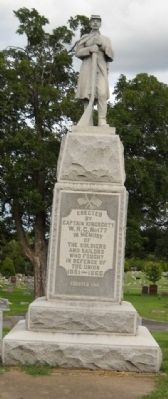 Maple Hill Cemetery Civil War Memorial image. Click for full size.