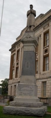 Fort Scott Civil War Memorial Marker image. Click for full size.