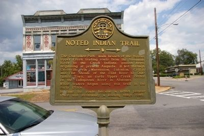 Noted Indian Trail Marker image. Click for full size.
