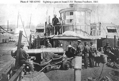 USS Thomas Freeborn (1861-1865) image. Click for full size.