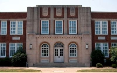 Brookland-Cayce High School -<br>Main Entrance image. Click for full size.