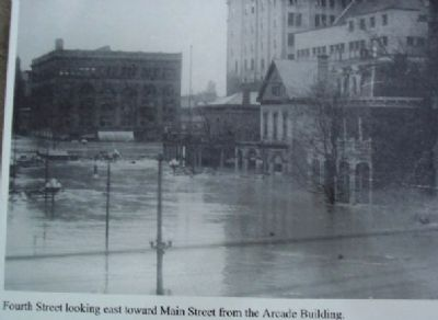 The Great Dayton Flood of 1913 Marker Photo image. Click for full size.