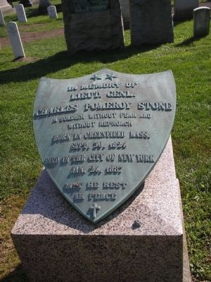 Grave of Lt. Gen. Charles P. Stone image. Click for full size.