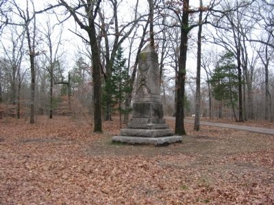 25th Indiana Infantry Regiment Monument image. Click for full size.