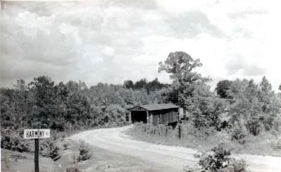 The Harmony Road Covered Bridge Photo, Click for full size