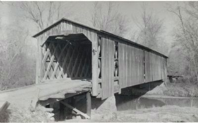 Lancaster Covered Bridge Photo, Click for full size