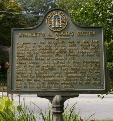 Stanley�s & Wood�s Sector Marker image. Click for full size.